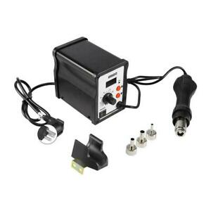 858d Hot Air Gun Smd Soldering Station Industrial Iron Welding Tool W nozzles Us