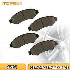 Front Ceramic Brake Pads Fit For 2002 2003 2004 2005 2006 Ford Expedition