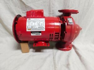 Bell Gossett 1 Hp E9014s In Line Centrifugal Hydronic Circulating Pump