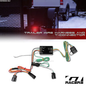 For 2011 2014 Ford Edge Trailer Hitch 4 way Output Wire Harness T connector Kit