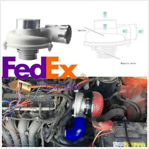 Usa Stock Car Truck Electric Turbo Supercharger Turbocharger Kit For Fuel Saver