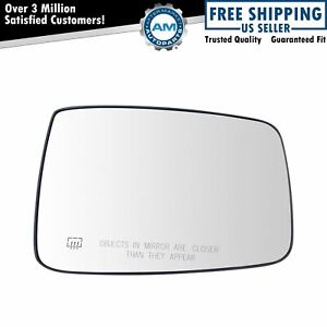 Exterior Mirror Glass Power Heated Rh Passenger Side For Dodge Ram 1500 2500