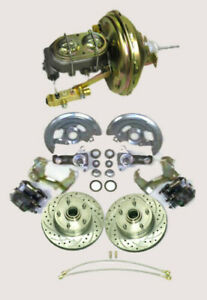 1964 1972 Gm A F X Body Disc Brake Conversion Kit 9 Booster Kit For Big Block