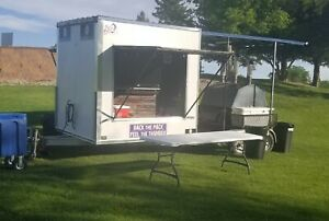 Large Bbq Tailagating Trailer Homemade