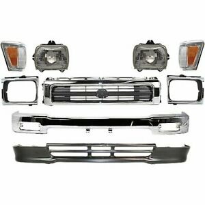 Front New Kit Auto Body Repair For Truck Toyota Pickup 1992 1995