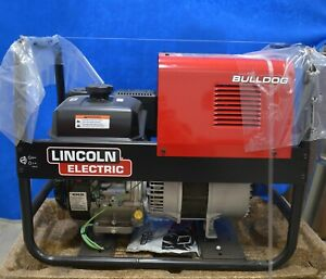 Lincoln Electric Bulldog 5500 Arc Welder Kohler Gas Engine Driven 5500w K2708 2