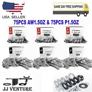 300 Pcs Clip on Wheel Weight Balance Aw And P Style 1 50 Oz