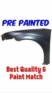 New Pre Painted Driver Lh Fender For 2005 2007 Ford Focus W Free Touch Up