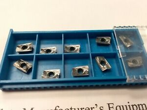10pcs R390 11t308 Carbide Inserts Tialn Coated For Sandvik Free Shipping new