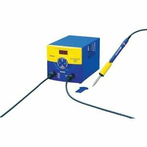 Hakko Fm 203 100v Dual Port Soldering System Soldering Removal Rework From Japan