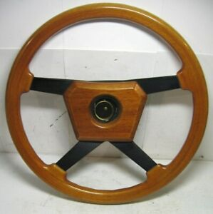 Porsche 911 930 944 Vintage Momo Steering Wheel 80s Wood Bmw E30 Jaguar Mercedes