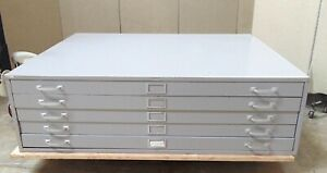 Map Cabinet 5 Drawer 53 Wide X 41 1 2 Deep X 16 Tall Sr627