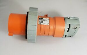 Abb430p12w 30amp 12 125 250vac Male Electrical Plug Used
