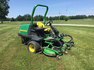 John Deere 7400 All Terrain Cut Turbo Diesel Commercial Mower 72 Cut Awd