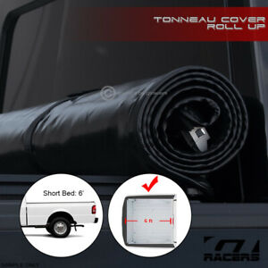 For 1983 2011 Ranger 94 Mazda B Series 6 Ft Bed Lock Roll Soft Tonneau Cover