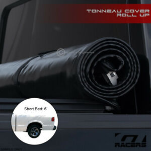 For 1994 2003 Chevy S10 Gmc S15 Sonoma 6 Ft Bed Lock Roll Soft Tonneau Cover