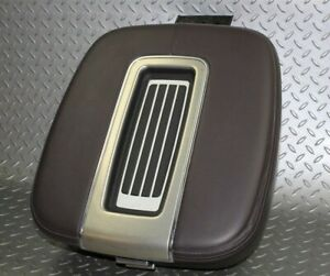 07 14 Escalade Platinum Cocoa Brown Leather Center Console Armrest Lid Panel Oem