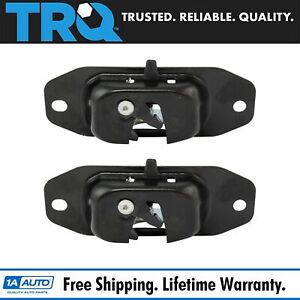 Rear Tailgate Latch Lock Release Assembly Pair 2pc Set For Sierra Silverado