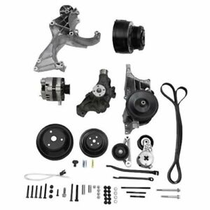 Chevrolet Performance 19417906 Deluxe Serpentine Drive Kit Small Block Chevy Inc