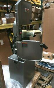 Jet 414500 1 Hp Vertical Band Saw Voltage 115 230 Max Blade Length 93 1 2