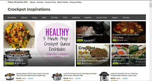 Fully Automated Crock Pot Recipe Video Website Amazon Affiliate And More