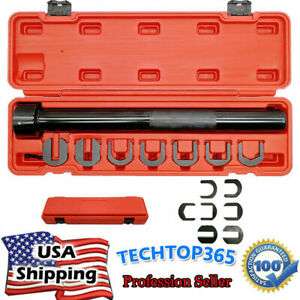 7pcs Inner Tie Rod End Installer Remover Tool Set 1 2 Rachet Hole On End Se Dr