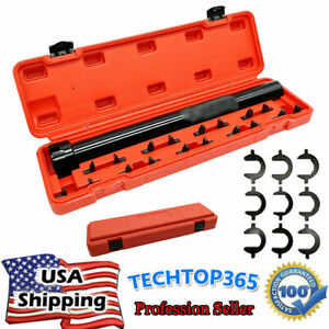 9pcs Car Truck Inner Tie Rod Tool Installer Remover Crews Kits Adjuster 1 2 Dr