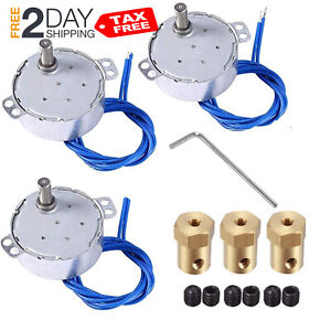 3pcs Synchronous Synchron Motor Flexible Coupling Cup Turner Cuptisserie 7mm