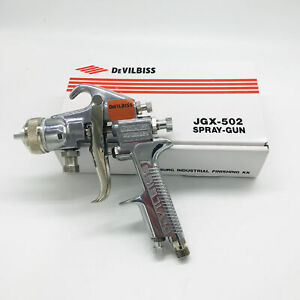 Devilbiss Professional Spray Gun 502jgx For Paint Cars Feed 1 4mm Nozzle New