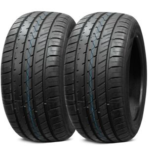 2 New Lionhart Lh five 235 35zr20 92w Xl All Season Ultra High Performance Tires