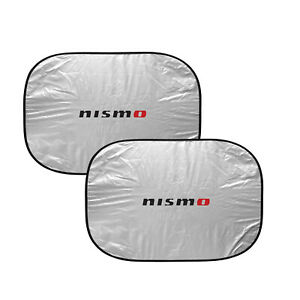 Nissan Nismo Dual Panels Easy Folding Windshield Sun Shade For Cars Small Suvs