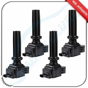 4 Pack High Performance Ignition Coil Fits Ford Edge Escape Focus Fusion Uf670