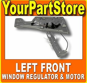 Power Window Lift Motor Regulator Driver Side Left Front For Chevy Equinox