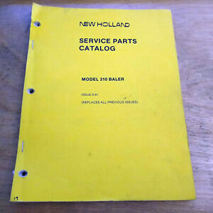 New Holland 310 Hay Baler Parts Manual Catalog Hayliner Nh