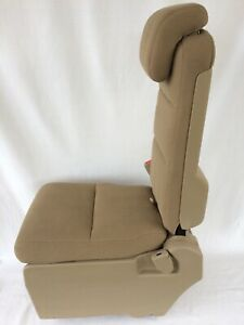 05 10 Honda Odyssey Ex Touring Middle Jump Seat Center Armrest Tan Cloth