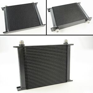 30 Row Universal Alloy Racing Engine Transmission Oil Cooler An10