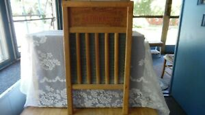 Vintage National Washboard Co The Zinc King No 701 Wash Board