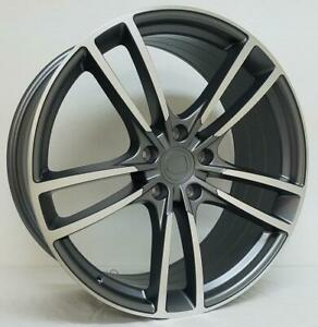 22 Wheels For Porsche Cayenne Turbo S 2009 Up 22x10