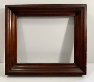 Nice Antique American Mahogany Wood Frame For Hudson River School Painting 1850s