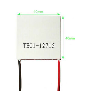 Tec1 12715 12v 15a Heatsink Thermoelectric Cooler Cooling Plate Module