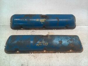 Pair Of Valve Covers For 1966 Lincoln Continental
