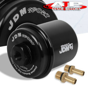 Universal Performance Racing Fuel Filter Upgrade Turbo Super Charger N A Black