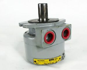 Parker Hannifin 111 4 as 0 Series 11 Hydraulic Motor 858 Rpm