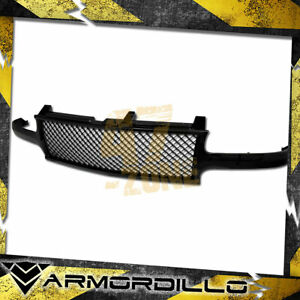 For 1999 2002 Chevrolet Silverado 1500 Mesh Grille Replacement Gloss Black