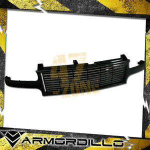 For 1999 2002 Chevrolet Silverado 1500 Horizontal Grille Replacement Gloss Black