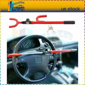 Car Steering Wheel Bar Lock Security System Suv Auto Club Sale 1 Year Warranty