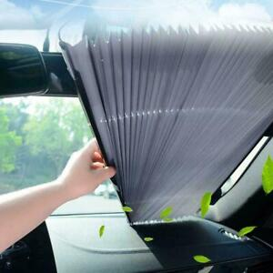 Car Windshield Sun Shade Retractable Visor Folding Auto Block Cover Front Window