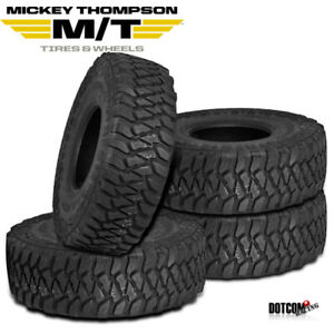 4 X New Mickey Thompson Baja Mtz P3 35 12 5r15lt Mud Terrain Performance Tire