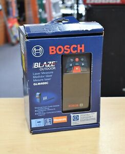 bosch Glm400c Blaze Laser Measure brand New Free Shipping Buy It Now