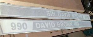 Case David Brown 990 Decals Hood Only Great Quality Decals